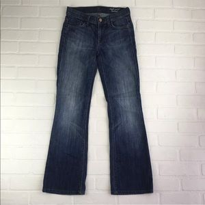 7 For All Mankind 24 x 29 High Waist Bootcut Jeans